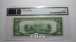 $20 1929 Marion Kansas KS National Currency Bank Note Bill #7911 Uncirculated