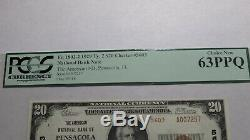 $20 1929 Pensacola Florida FL National Currency Bank Note Bill Ch #5603 New63PPQ