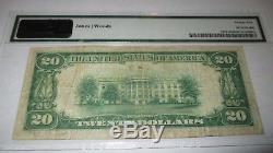 $20 1929 Santa Cruz California CA National Currency Bank Note Bill #10571 PCGS