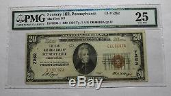 $20 1929 Scenery Hill Pennsylvania PA National Currency Bank Note Bill #7262 PMG