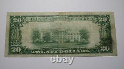 $20 1929 St. Joseph Missouri MO National Currency Bank Note Bill Ch. #4939 VF