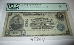 $5 1902 Benton Harbor Michigan MI National Currency Bank Note Bill #10529 FINE