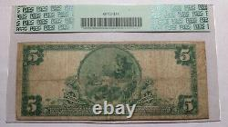 $5 1902 Northborough Massachusetts MA National Currency Bank Note Bill 1279 PCGS