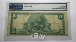 $5 1902 Oakland California CA National Currency Bank Note Bill! Ch. #9502 PMG