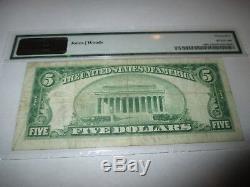 $5 1929 Everett Washington WA National Currency Bank Note Bill! #11693 VF! PMG