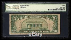 $5 1929 Farmer City Illinois IL National Currency Bank Note Bill! #3607 Fine