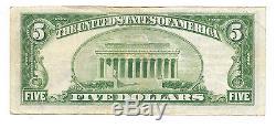 $5. 1929 NASHWAUK Minnesota National Currency Bank Note Bill Ch. #11579