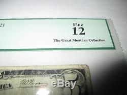 $5 1929 St. Joseph Missouri MO National Currency Bank Note Bill #8021 FINE PCGS