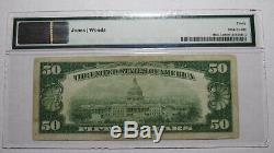$50 1929 Cedar Rapids Iowa IA National Currency Bank Note Bill #2511 VF30 PMG