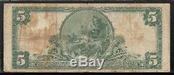 Belleville, New Jersey NJ! $5 1902 Peoples Nat'l Bank & Trust National Currency