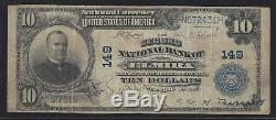 Elmira, New York NY! $10 1902 2nd National Bank National Currency Chemung SCARCE