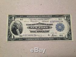 FR 712 New York Federal Reserve Bank NATIONAL CURRENCY Series 1918