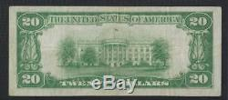Ithaca, New York NY $20 1929 1st National Bank National Currency College Cornell