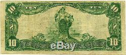 National Currency $10 The National Bank Of Commerce ST. Louis, Missouri, VF/XF