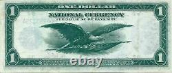 National Currency Fed Reserve Bank Of Ny $1 1918 Possible Small Error In Serial