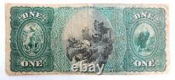 RARE 1875 US Hopkinton Massachusetts 626 National Currency Bank Note Bill