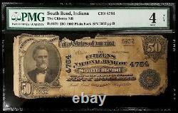 Series 1902 $50 National Currency, The Citizens National Bank South Bend, IN