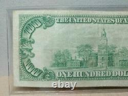 Series 1929 $100 Federal Bank Of Chicago Brown Seal National Currency Note
