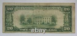 Series of 1929 $20 Federal Reserve Bank of Dallas TX National Currency Note 1VTA