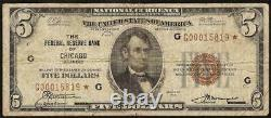 Star 1929 $5 Dollar Bill Brown Seal Bank Note Old Paper Money National Currency