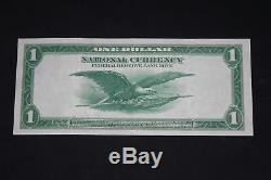 ThriftCHI Large Federal Reserve Bank of NY National Currency $1 Series 1918
