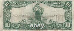 USA National Currency 1902 The Second National Bank Of Paterson N. J. $10 Note