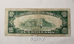 WPC $10 1929 2nd Series National Currency'First National Bank of York PA #197