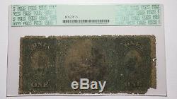 $ 1 1875 Billet De Banque National De La Monnaie Nationale Hopkinton Massachusetts Ma