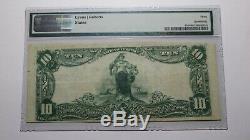 10 $ 1902 Arkansas Ar Bentonville Monnaie Nationale De Billets De Banque Bill Ch. # 7523 Vf30