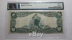 10 $ 1902 Atlantic City New Jersey Nj Banque Nationale Monnaie Note Bill # 8800 Vf25