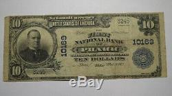 10 $ 1902 Billet De Banque En Monnaie Nationale Pharr Texas Tx - Bill Ch. # 10169 Fin! Rare