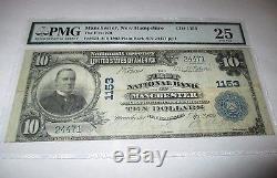 $ 10 1902 Billet De La Banque Nationale Du New Hampshire Nh De Bill, Bill # 1153 Vf