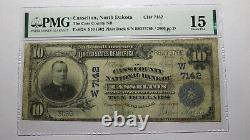 $10 1902 Casselton North Dakota Nd National Currency Bank Note Bill Ch #7142 F15