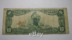 10 $ 1902 Pensacola En Floride Fl Banque Nationale Monnaie Note Bill! Ch. # 5603 Rare