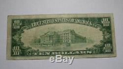10 $ 1929 Billet De Banque Corvallis Oregon Ou Monnaie Nationale Bill Ch. # 4301 Fin