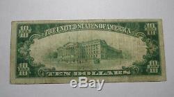 10 $ 1929 Billet De Banque En Monnaie Nationale Texarkana Arkansas Ar Bill Ch. # 7138 Fin