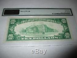 10 $ 1929 Billet De Banque Libellé En Monnaie Nationale West Point Nebraska Ne! Ch. # 3370 Vf