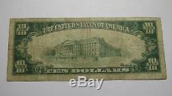 10 $ 1929 Billets De Banque De La Devise Nationale Biddeford Maine Me - Bill Ch. # 1089 Amende