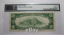 10 $ 1929 Blue Ball Pennsylvania Pa Banque Nationale Monnaie Notez Le Projet De Loi # 8421 Vf35