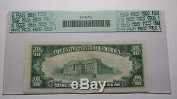 10 $ 1929 Camp Hill Pennsylvania Pa Banque Nationale Monnaie Note Bill # 12380 Vf35