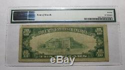 10 $ 1929 Cedar Rapids Iowa Ia Banque Nationale Monnaie Note Bill! Ch. # 2511 Vf20