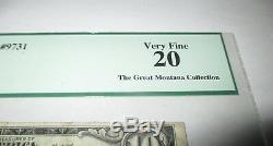 10 $ 1929 Crete Nebraska Ne Banque Nationale Monnaie Note Bill Ch. # 9731 Vf Pcgs