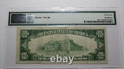 $10 1929 Grey Eagle Minnesota Mn National Currency Bank Note Bill Ch. #12607 Vf
