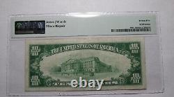 $10 1929 Gulfport Mississippi Ms National Currency Bank Note Bill Ch # 6188 Vf25