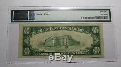 10 $ 1929 Lemoore Californie Ca Banque Nationale Monnaie Note Bill Ch. # 7779 Vf25
