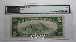 10 1929 Marietta Ohio Oh Monnaie Nationale Banque Note Bill Ch. #4164 F15 Pmg