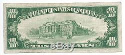 10 $. 1929 Marissa Illinois National Currency Bank Note Bill Ch. # 6691