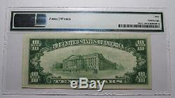 10 $ 1929 Millville New Jersey Nj Banque Nationale Monnaie Note Bill # 1270 Vf30