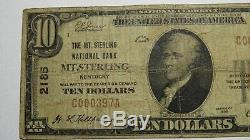 10 $ 1929 Mt.