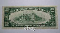 $10 1929 Rochester Pennsylvania Pa National Currency Bank Note Bill! #2977 Xf+